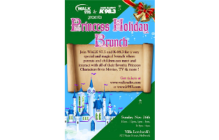 Princess Holiday Brunch - 1pm-3pm - Adult