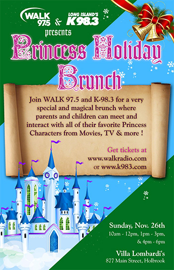 Princess Holiday Brunch - 10am-12pm - Adult